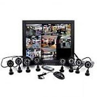 BTV 19 Kit DVR 8 Cameras (Home , Home automation and security , Video surveillance)