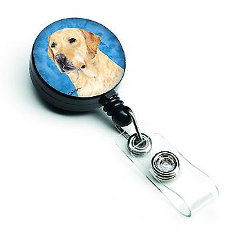 Carolines Treasures  SC9133BU-BR Labrador Retractable Badge Reel or ID Holder wi