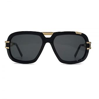Cazal 8015 Sunglasses In Shiny Black Gold