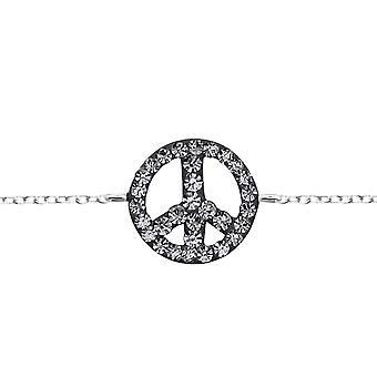 平和 - 925 スターリングシルバー ブレスレット - W18562x