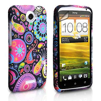 Yousave Accessories HTC One X Jellyfish Gel Case - Multicoloured