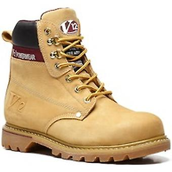 V12 V1237 Boulder Honey Nubuck Derby Boot EN20345:2011-Sbp Size 10