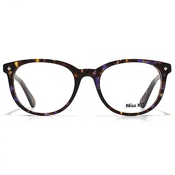 Miss KG Soft Oval Glasses In Tortoiseshell