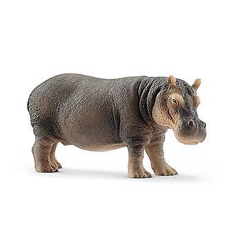 Hipopótamo de animais selvagens Schleich