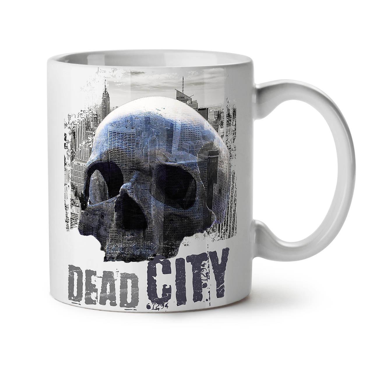 De Café City 11 Dead OzWellcoda Céramique Mode Crâne Nouveau Thé Tasse Blanc 29HEDeIYW