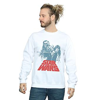 حرب النجوم الرجال هان سولو Chewie Duet البلوز