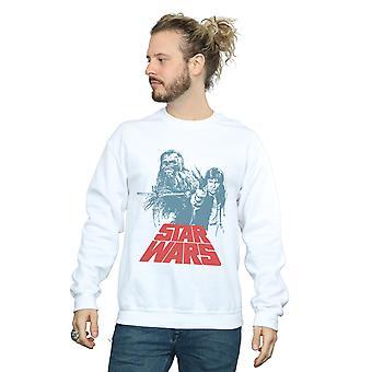 Star Wars mænd Han Solo Chewie Duet Sweatshirt