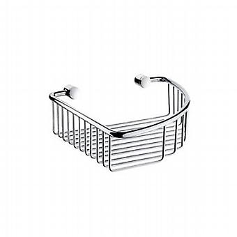 Villa Chrome Soap Basket Corner 1 Level K274