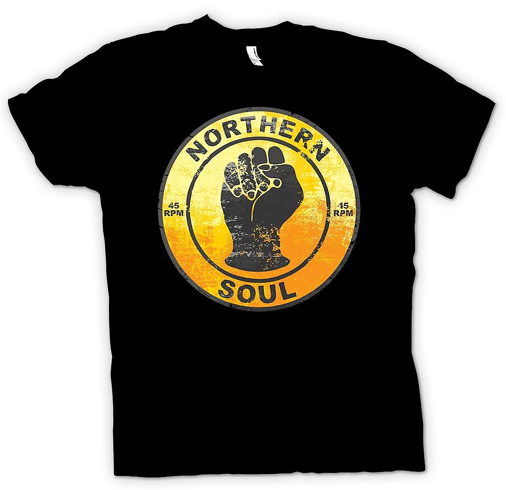 Womens T-shirt - Northern Soul - Vinyl Musik