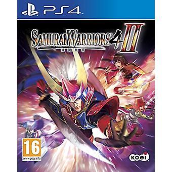 Samurai Warriors 4 II (PS4) - Fabrik versiegelt