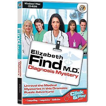Elizabeth Find M.D.-Diagnosis Mystery (PC CDMac)