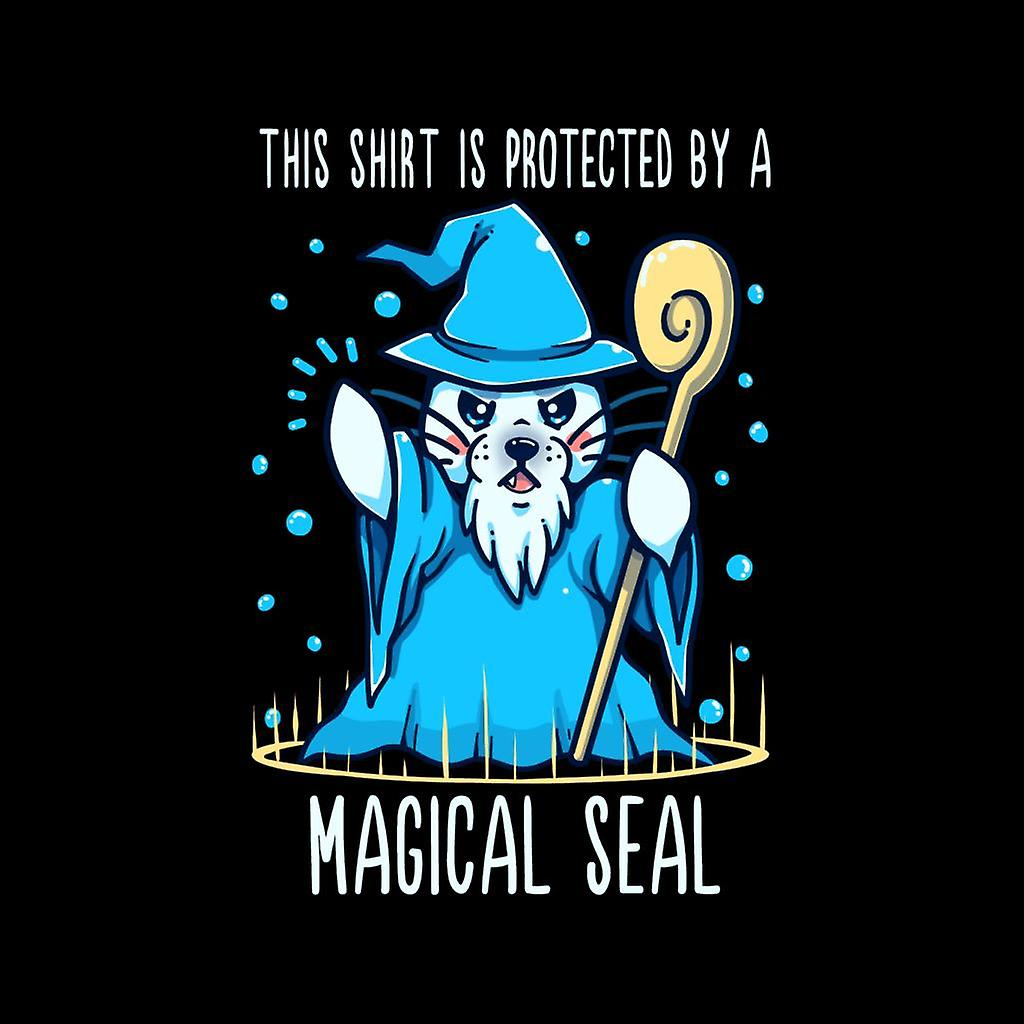 DnD Puns Protected By a Magical Seal Pun Kid's Varsity Jacket