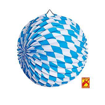 Bavarian Oktoberfest Paper Ball Decoration