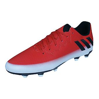 Boys adidas Firm Ground Football Boots Messi 16.3 FG - Red