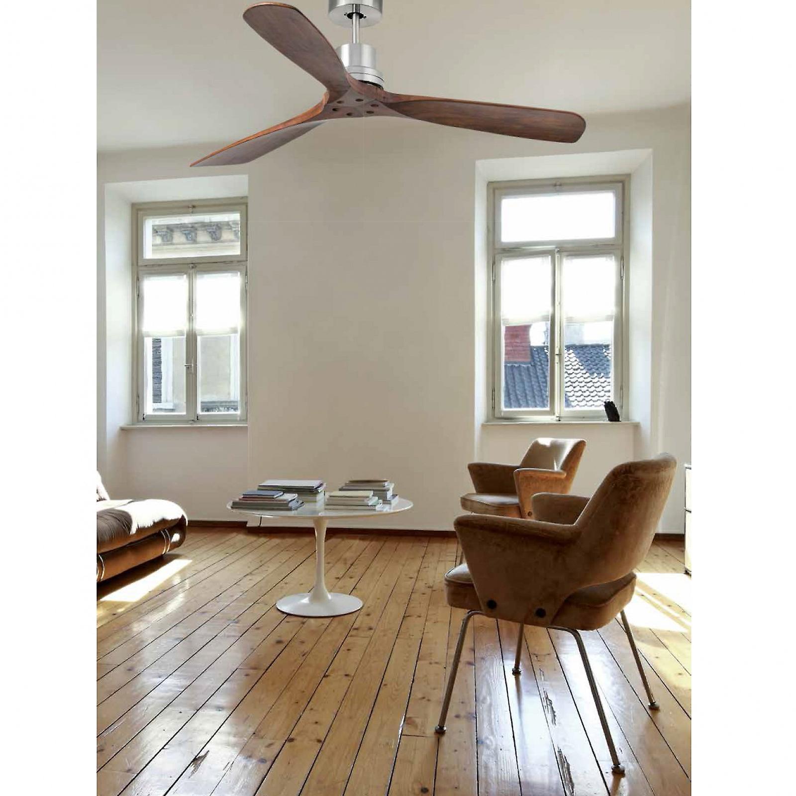 Ventilatore da soffitto Lantau noce 132cm/52