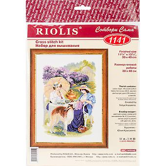 The Russian Country Estate Counted Cross Stitch Kit-11.75