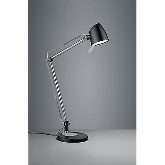 الثلاثي الإضاءة الحديثة رادو الأسود المعدن مات الجدول مصباح