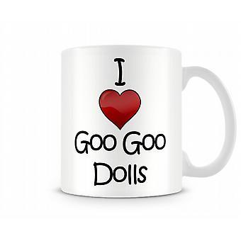 Goo Goo Dolls imprimé J'aime la tasse