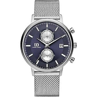Danish design mens watch TIDLØS COLLECTION chronograph IQ68Q1215