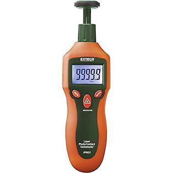 Extech RPM33 Tachometer Mechanical, Optical 2 - 19999 rpm 2 - 99999 rpm Manufacturers standards (no certificate)