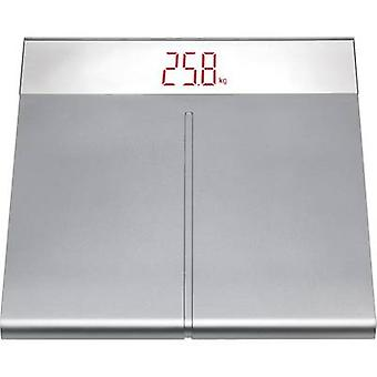 TFA 50.1001.54 Digital bathroom scales Weight range=150 kg Silver