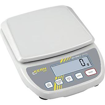 Kern Letter scales Weight range 6 kg Readability 1 g mains-powered, battery-powered White