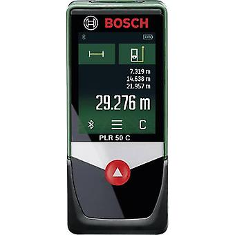 Bosch Home and Garden PLR 50 C Laser range finder Touchscreen, Bluetooth, Data logger app Gamma di lettura (max.) 50 m