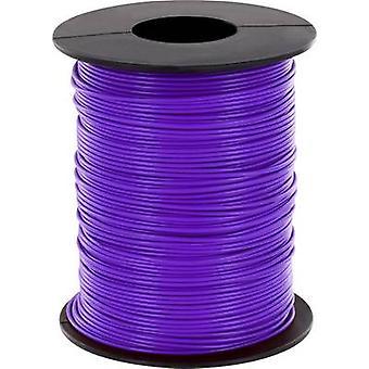 Strand 1 x 0.14 mm² Violet BELI-BECO L118/100 vt