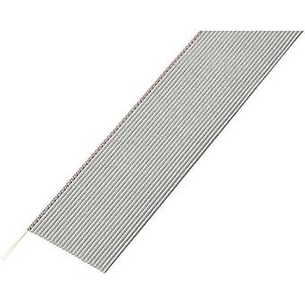 Conrad Components SH1998C203 Flat Ribbon Cable Grey