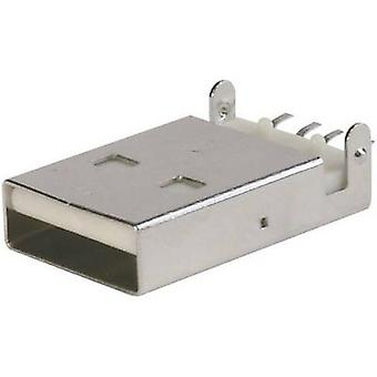 ASSMANN WSW A-USB A-LP-SMT-C Ultra Slim USB Connector Plug, mount USB A (SMT)