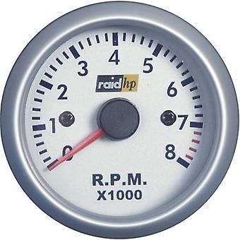 raid hp 660266Tachometer 速度 0 に 8000 rpm 12 v