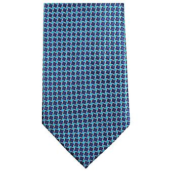 Knightsbridge Neckwear Small Square Tie - Bright Blue