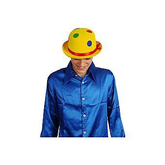 Kropki kapelusz Clown czapki rozmiar żółty