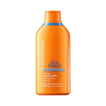 Lancaster Sun Beauty Velvet Tanning Milk for Body SPF30 400ml - High Protection