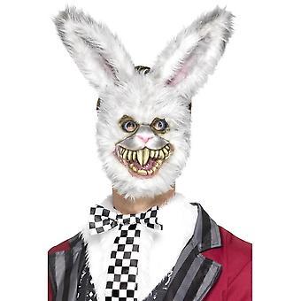 白兔面具, 白色, EVA, 带毛皮