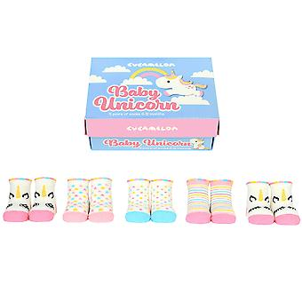 Cucamelon Baby Unicorn Sock Gift Set
