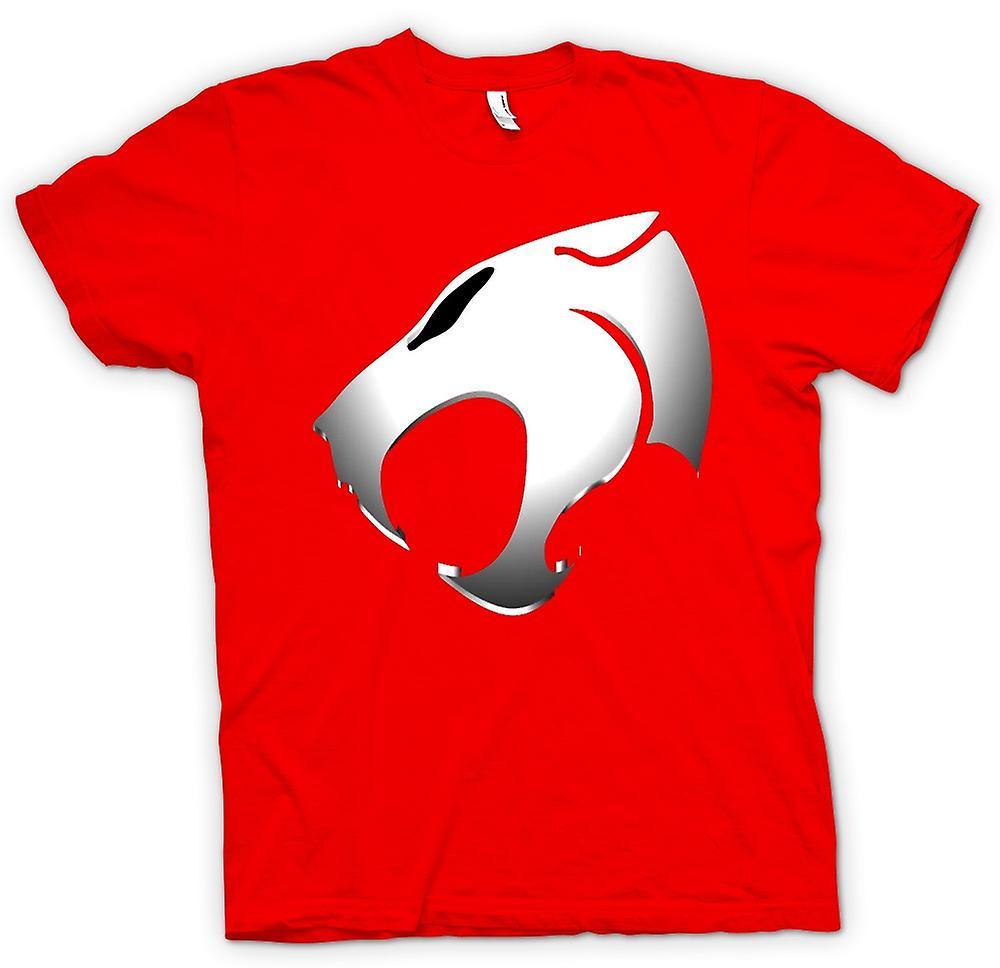 Hommes T-shirt - Thundercats - Logo métallique