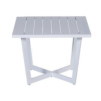 Table d'appoint jardin Impressions Ivy 62, 5 x 62, 5xH42 cm-blanc
