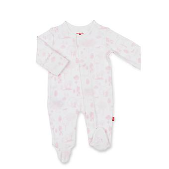 Magnificent Baby Girl Magnetic Me™ Organic Cotton Footie