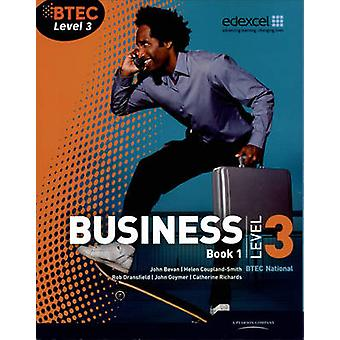 BTEC Level 3 National Business Student Book 1 - Buch 1 (3. überarbeitete Auflage