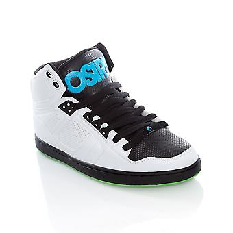 Osiris White-Black-Cyan NYC83 CLK Shoe