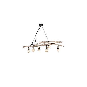 Driftwood lampy żyrandol 6