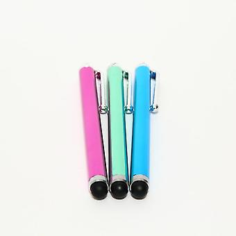 3 Touch Stylus Pen Great Universal iPhone/iPad/Android Pink/Green/Blue