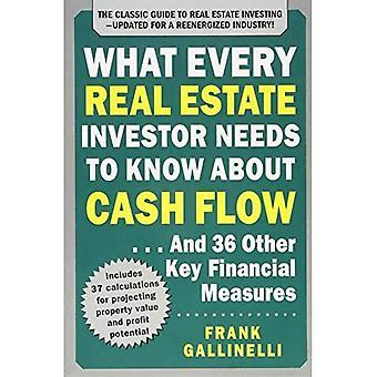 Ce que chaque investisseur immobilier doit connaître les flux de trésorerie... Et 36 autres mesures financières clés, mise à jour...