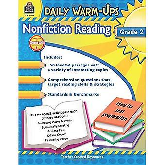 Dagelijkse Warm-Ups: Non-fictie lezing, Grade 2