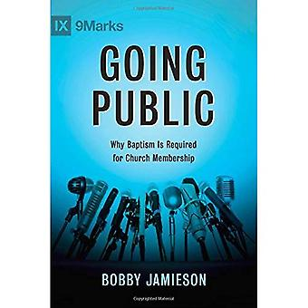 Going Public: Why Baptism Is Required for Church Membership