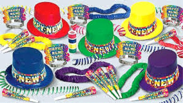 Rainbow Blast New Years Eve Pack For 25 People