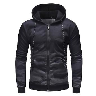 Cloudstyle giacca mimetica gradiente Hooded Bomber uomo