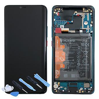 Huawei pantalla LCD unidad + 20 02352GGB Pro Service Pack será marco verde para el compañero nuevo