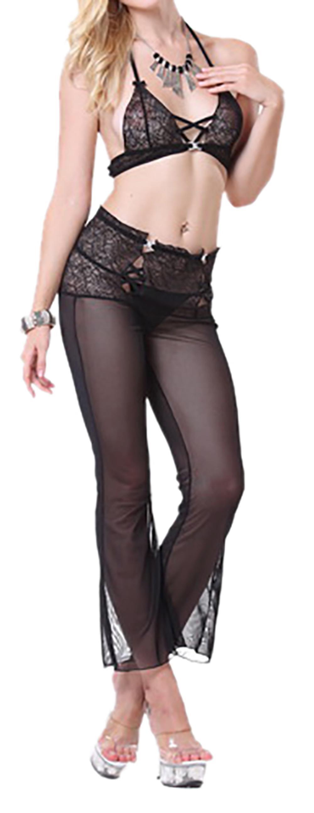 Waooh - Set lingerie bra and pants transparent Saeg